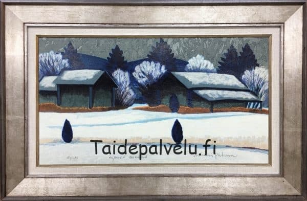 Juhani Palmu Hiljainen talvipäivä