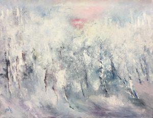 Marjo Wassman Huurteinen metsä