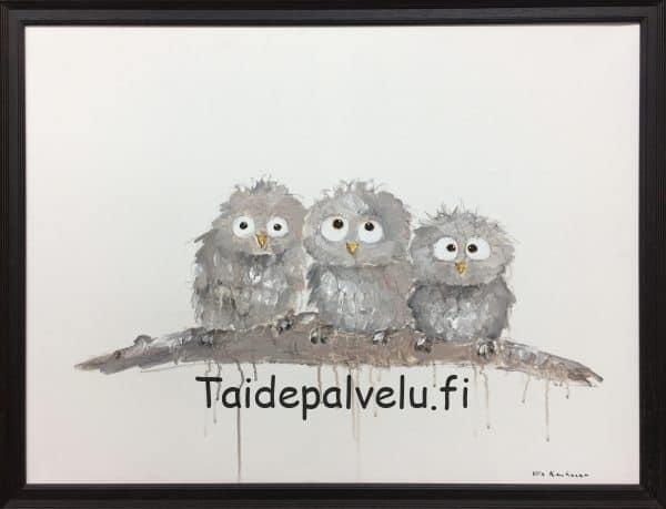 Ulla Kauhanen Pikkupöllöt