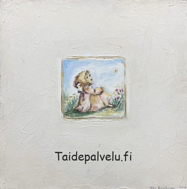Ulla Kauhanen Tyttö ja perhonen