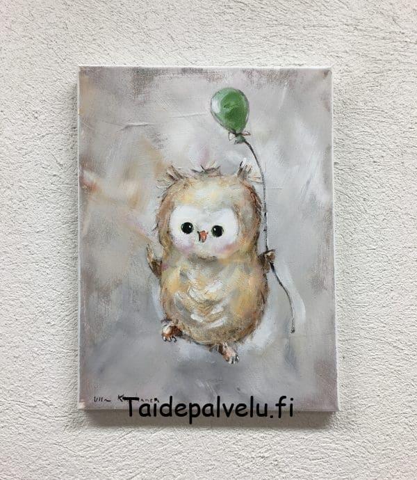 Ulla Kauhanen Ilmapallo kuva1