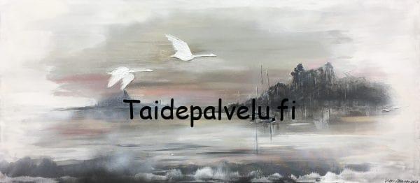 Virpi Mäkinen Iltalennolla