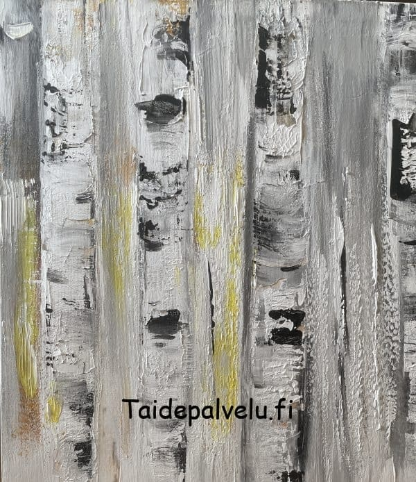 Virpi Mäkinen Koivut kuva 2