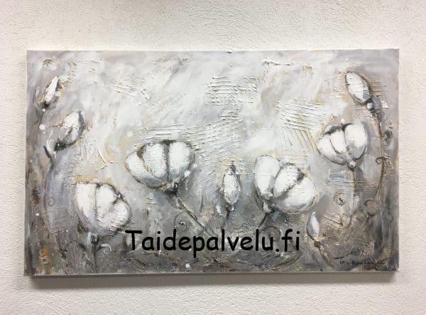Ulla Kauhanen Sarjasta: Valkoiset kukat Kuva1