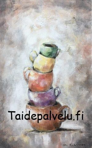 Ulla Kauhanen Tasapainoilua