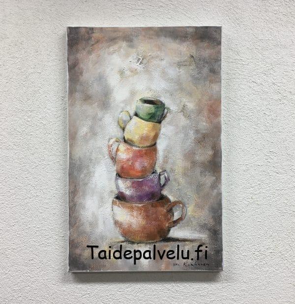 Ulla Kauhanen Tasapainoilua Kuva1