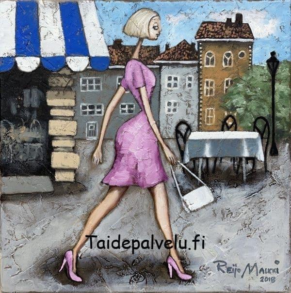 """Reijo Malkki """"Kävelyllä"""""""