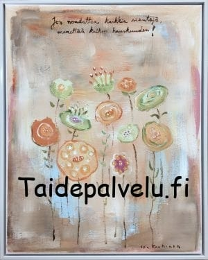 Ulla Kauhanen Huoneentaulu