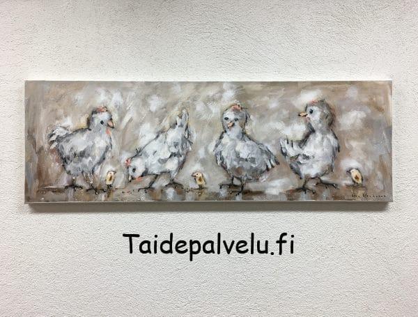 Ulla Kauhanen Laumasuojaa Kuva 1