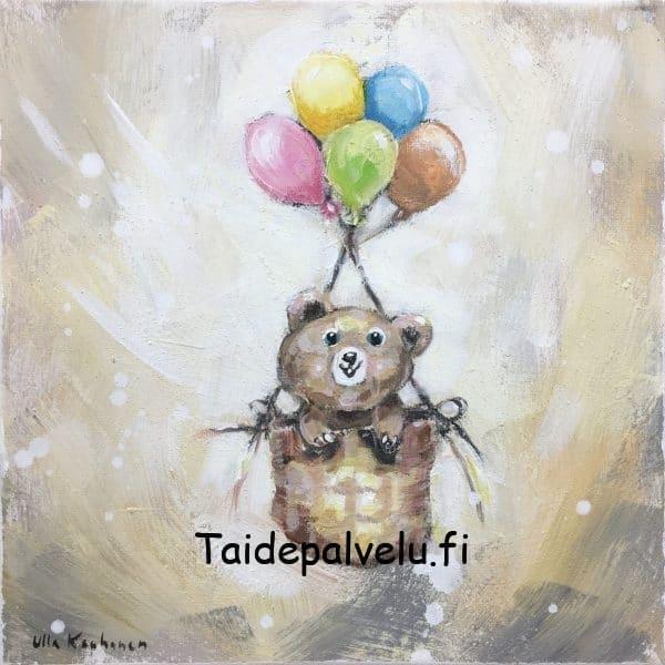 """Ulla Kauhanen """"Tuulen mukana"""""""