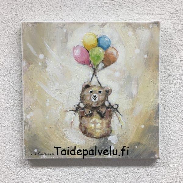 """Ulla Kauhanen """"Tuulen mukana"""" Kuva1"""
